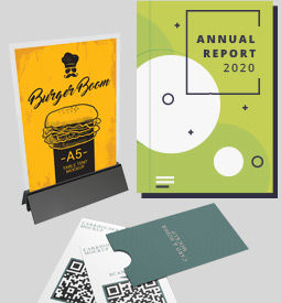 Flyers / Posters / Tent Cards / Brochures