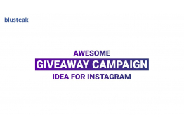 Awesome Give Away Campaign Idea for Instagram That We Executed