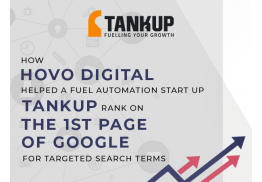 How HOVO Digital helped a Fuel Automation Start Up - Tank Up Rank on the First Page of Google for Targeted Search Terms