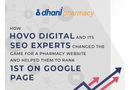 How HOVO Digital and its SEO experts changed the game for a pharmacy website and helped them to rank 1st on Google page