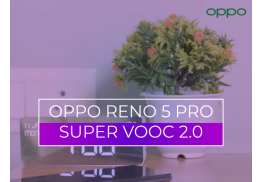 Oppo Reno 5 - EP 1- 5minutes Charging, 4hrs Video Playback