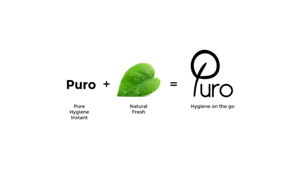 How we derive on logo by connecting with metaphor of natural purity