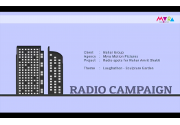 Radio Campaign - 11 ads for the Nahar Amritshakti Laughathon Campaign