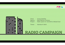 Radio Campaign - 4 ads for Aarambh