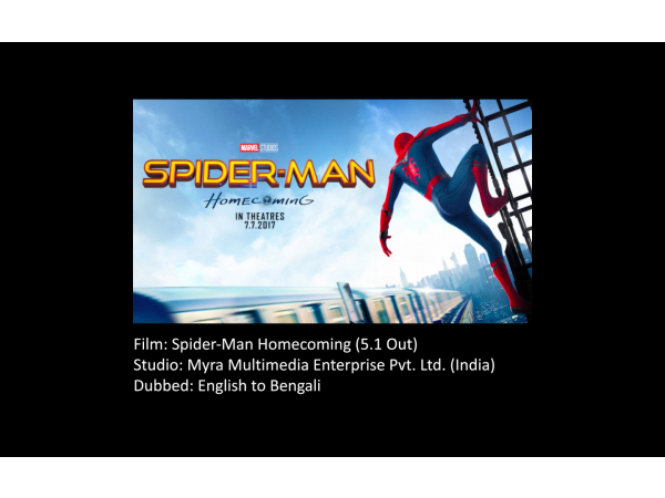 Spider-Man Homecoming in 4 Indian languages