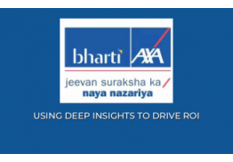 Bharti AXA General Insurance decreased COA(Cost Over Acquisitions) by 132% during off season, using location(city) specific strategy and leveraging AMPs