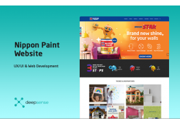 Nippon Paint Website Redesign