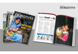 Horizons - Print and digital magazine