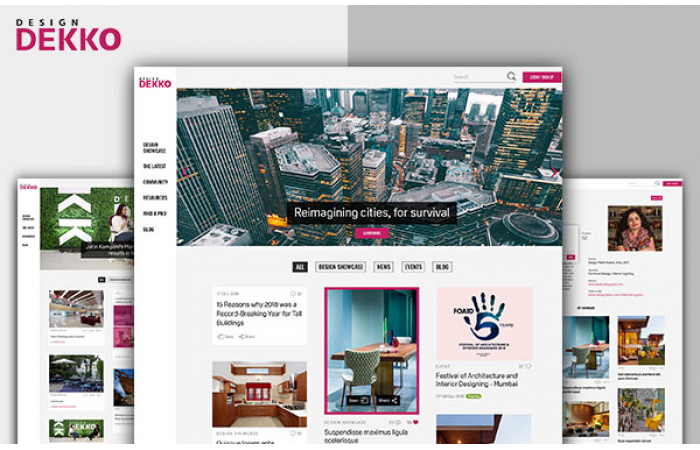 Design Dekko - An online community for architects and interior designers