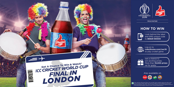Key Visual for Brand Thums Up