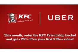 KFC Uber Digital Activation