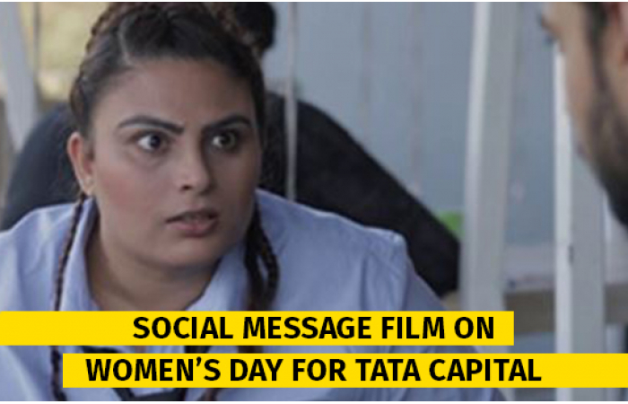 Film on Women's Day for TATA Capital