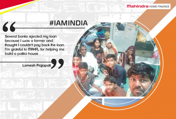 #IAmIndia -  a long running storytelling campaign which celebrates the true success stories of people of rural India, who have fought all obstacles to build their own homes with the help of MRHFL