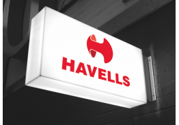 Translating Havells's leadership and dynamism to its visual identity for achieving a strong and distinctive brand recall in a highly competitive industry