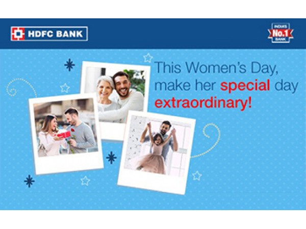 HDFC Bank Women's Day Email Campaign