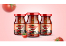 Tomato Puree Packaging Design